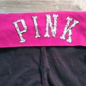 Victoria's Secret Pants - LOVE PINK VS Yoga leggings